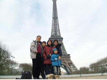 김 실장은 연구소 생활 중 가장 행복했던 경험으로 가족과 함께 한 달 가량 떠났던 유럽 배낭여행을 꼽았다. - 김종국 재료연 표면공정연구실장 제공